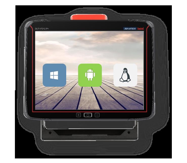 De nieuwe V7212P+: 12″ scherm in een compacte behuizing